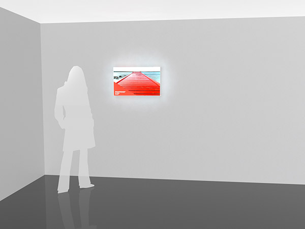 Small Wall-Mounted Lightbox Example